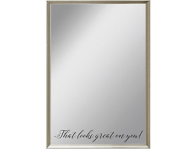 Looks Great On You Mirror, , large