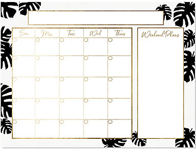 Monstera Monthly Whiteboard, , large