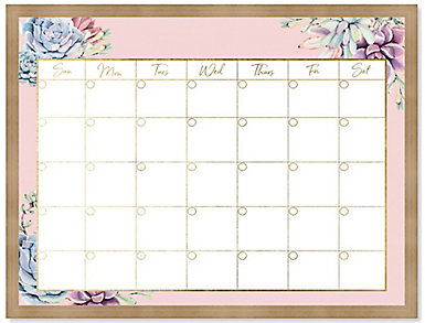 Palm Spring Monthly Whiteboard, , large