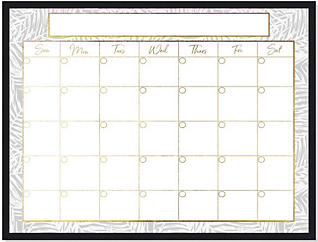 Summer Grey Monthly Whiteboard, , large