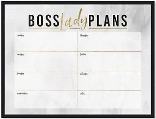 Boss Lady Weekly Whiteboard, , large