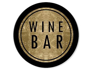 """30"""" Wine Bar Circle Art, , large"""