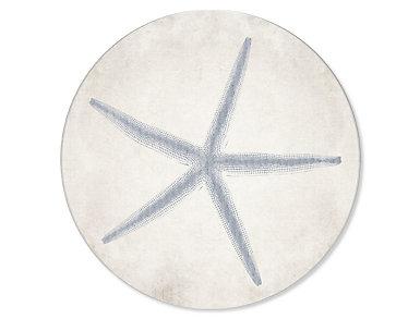 "24"" Starfish Circle Art, , large"