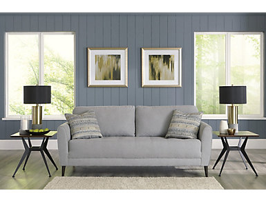 Draper Grey Sofa, , large