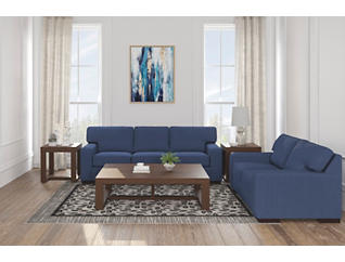 Action Blue Sofa, , large