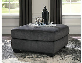 Afton Granite Cocktail Ottoman, , large