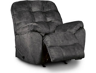 Afton Rocker Recliner, Granite, large