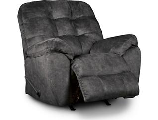 Afton Rocker Recliner, Granite, large