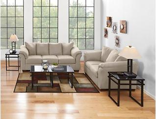 COLORS Sofa, Stone, large
