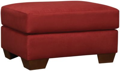 COLORS Ottoman, Stone, Red, swatch