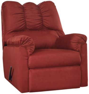 COLORS Stone Rocker Recliner, Red, swatch