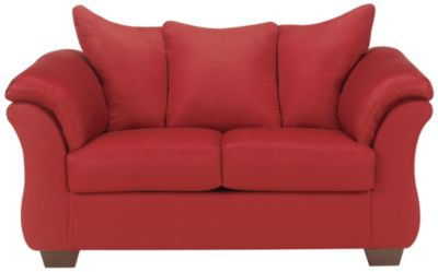 COLORS Loveseat, Stone, Red, swatch