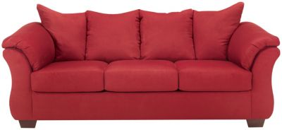 COLORS Sofa, Stone, Red, swatch