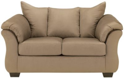 COLORS Loveseat, Stone, Brown, swatch