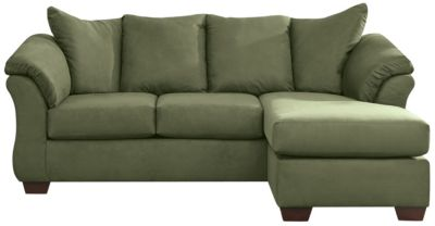 COLORS Sofa Chaise, Sage, swatch