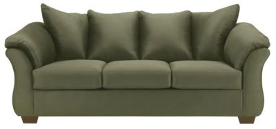 COLORS Sofa, Stone, Green, swatch