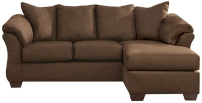 COLORS Sofa Chaise, Cafe, swatch