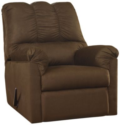 COLORS Stone Rocker Recliner, Chocolate, swatch