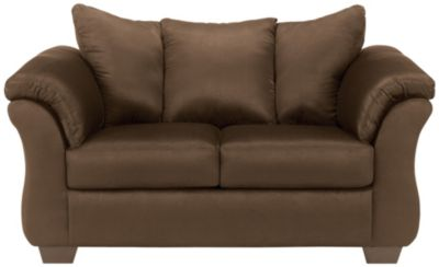 COLORS Loveseat, Stone, Chocolate, swatch