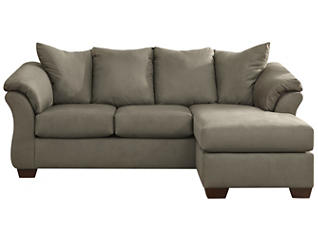 COLORS Sofa Chaise, Beige, large