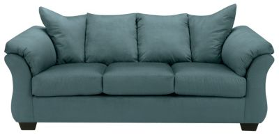 COLORS Sofa, Stone, Sky Blue, swatch
