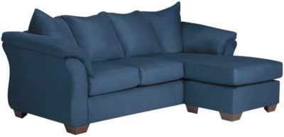 COLORS Sofa Chaise, Blue, swatch
