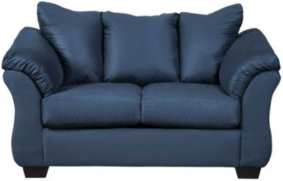 COLORS Loveseat, Stone, Blue, swatch
