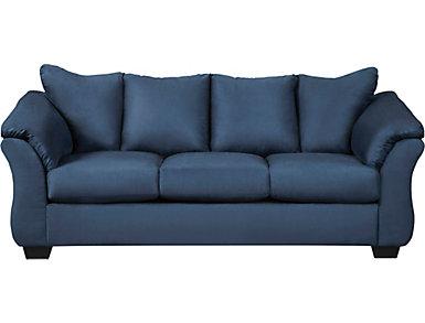 COLORS Sofa, Blue, , large