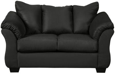 COLORS Loveseat, Stone, Black, swatch
