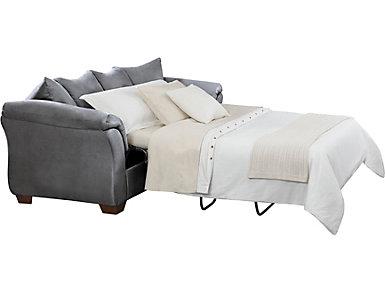 Colors Steel Full Sleeper Sofa, , large