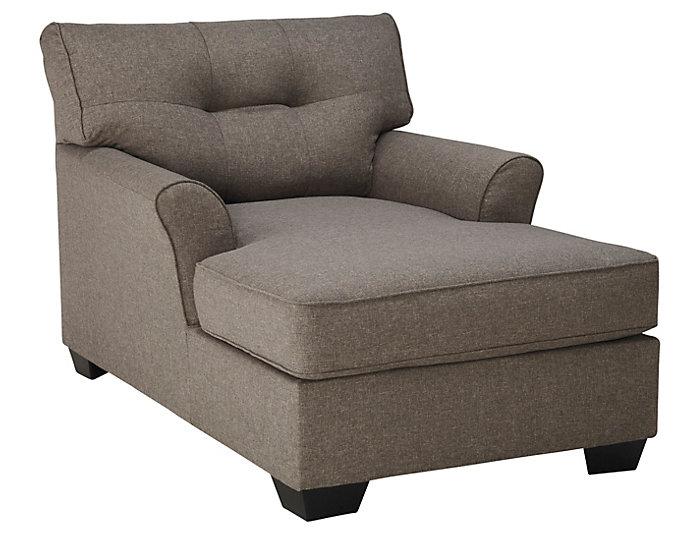 Osborne Chaise, Grey, , large