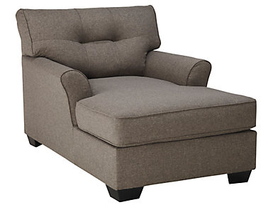 Osborne Chaise, Grey, , large