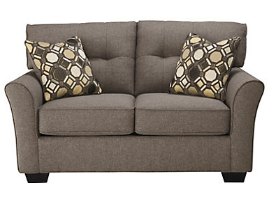 Osborne Loveseat, Grey, , large