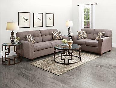 Osborne Slate Full Sleeper Sofa, , large