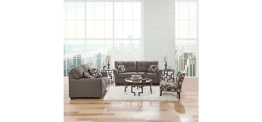 Osborne Slate Full Sleeper Sofa