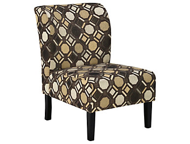 Osborne Accent Chair, Grey, , large