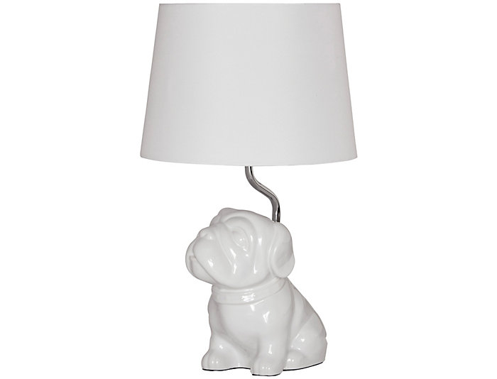 Youth Bulldog Lamp, , large