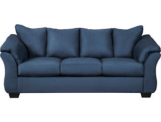 COLORS Blue 8 Piece Living Room Package, , large