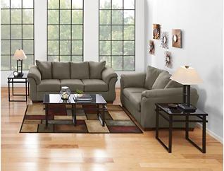 COLORS 7 Piece Room Package, Beige, Beige, Large