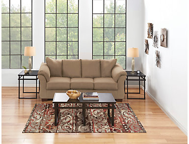 COLORS Mocha 7 Piece Room Package, , large