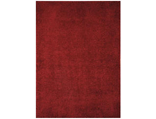 5x7  Caci Red Area Rug, , large