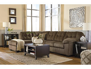 Afton Earth 2-Piece Sectional with Left-Arm Facing Chaise, , large
