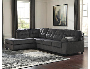 Afton Granite 2-Piece Left-Arm Facing Sectional, , large