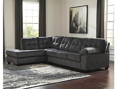 Afton Granite 2 Piece Left-Arm Facing Sectional, , large