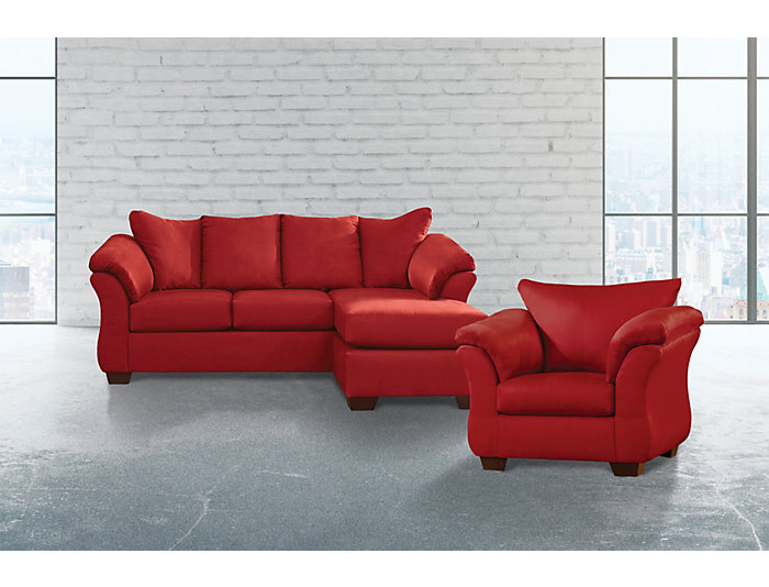 Fabulous Colors Salsa 2 Piece Sectional With Right Arm Facing Chaise Chair Set Alphanode Cool Chair Designs And Ideas Alphanodeonline