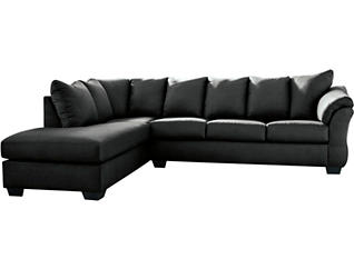Colony Charcoal 5 Piece Modular Sectional with Left-Arm Facing Chaise