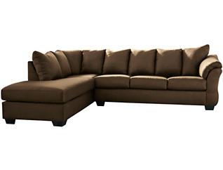 COLORS Cobblestone 2 Piece Sectional with Left-Arm Facing Chaise
