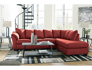 COLORS Salsa Right-Arm Facing 2 Piece Sectional, , large