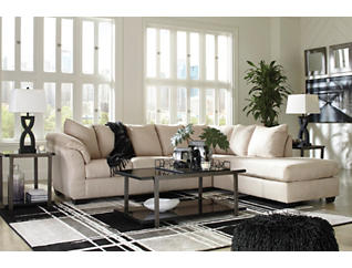 COLORS Stone 2 Piece Sectional with Right Arm Facing Chaise, , large
