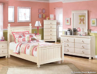 shop Cottage-Dresser,Mirror,Twn-Bed